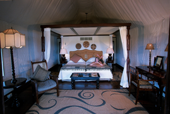 Savute Elephant Camp Bedroom
