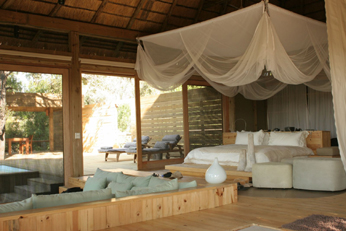 Vumbura Plains Bedroom - Wilderness Safaris